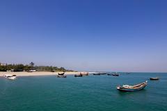 St. Martin Island, Bangladesh (আনিসুজ্জামান) Tags: blue sea sky green nature st coral canon island boat view martin bangladesh coralisland canon60d stmartinscoralisland coralislandbangladesh tokina1116mmf28atx116prodxdigitalzoomlens