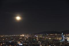 Çamlıca'dan Şehir ve Ay