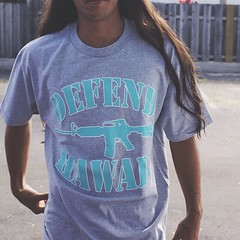 "Make a bold statement in the Athletic Grey/Tiffany Blue #DefendHawaii ""AR-15"" Logo T-shirt available online @ defendhawaii.com • <a style=""font-size:0.8em;"" href=""http://www.flickr.com/photos/89357024@N05/13318674974/"" target=""_blank"">View on Flickr</a>"