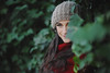 Passion changes everything (L e t i) Tags: red green girl beauty forest eyes nikon 85mm gaze beatrice castello tortona beautifulsmile nikond700 lvphotography