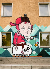 :-) (AgeAge) Tags: wedding berlin graffiti mural funky fresh caro orbit crackhead hausderjugend 2013 ageage nauenerplatz kobeone graffitilobbyberlin stanundaxer naunerplatz