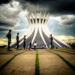 Brasilia's cathedral