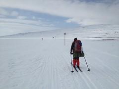 Mot Blåhammaren bra med snö i början  Photo