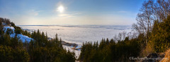 Lake Michigan ... ice check, Peterson Park (Ken Scott) Tags: panorama usa spring michigan lakemichigan greatlakes april vista freshwater icd 2014 leelanau 45thparallel petersonpark fhdr