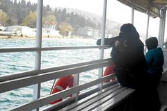 Muslim Girl with Camera (RobW_) Tags: camera cruise girl turkey muslim sunday istanbul april bosphorus 2014 apr2014 06apr2014