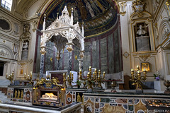 """Basilica di Santa Cecilia in Trastevere • <a style=""""font-size:0.8em;"""" href=""""http://www.flickr.com/photos/89679026@N00/13805309894/"""" target=""""_blank"""">View on Flickr</a>"""