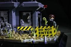 Operation Spotlight - Closeup (n7mereel) Tags: ghost recon lego new build modern military brickarms bricks eclipsegrafx n7mereel 2017 vignette story scene wasteland desert guns america weapons makelegogreatagain nopunintended