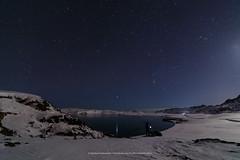 Kleifarvatn (Kjartan Guðmundur) Tags: iceland ísland landscape nightscape nightphotography nocturne lake stars sky snow moonlight mountain outdoor canoneos5dmarkiv tokinaatx1628mmf28profx kjartanguðmundur arctic photoguide