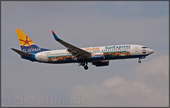 D-ASXP Boeing 737-8HX(W) Sun Express Germany (elevationair ✈) Tags: frankfurt frankfurtmain fraport frankfurtairport fra eddf airliners airlines avgeek aviation airplane plane aircraft arrival landing boeing 737 738 boeing737800 sunexpress sunexpressgermany dasxp boeing7378hxw elgouna elgounashuttle logojet