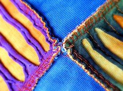 My colorful life . . . (JLS Photography - Alaska) Tags: color colorful fabric sewing stitches jlsphotographyalaska texture textile