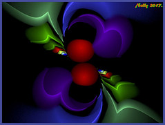*April... (MONKEY50) Tags: art fractal abstract colors red green purple blue netartii artdigital shockofthenew musictomyeyes autofocus hypothetical awardtree flickraward contactgroups beautifulphoto
