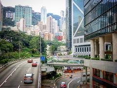 金鐘 - 金鐘道 (CHACOBAOBAO) Tags: 金鐘 中銀 香港 港島 大樓 摩天大樓 街景 街道 香港島 hk city hkstreet