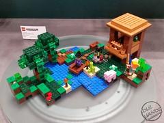 Toy Fair 2017 LEGO Minecraft 12 (IdleHandsBlog) Tags: minecraft toys videogames lego constructionsets toyfair2017