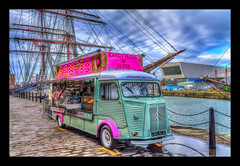 Candy Floss (Жevin ☀☂❄) Tags: albertdock architecture building canon1100d canon1855mm clouds cunardbuilding england hdr historical kevinwalker liverbirds liverbuilding liverpoolsthreegraces merseyside northwest outdoor panorama panoramic pierhead rivermersey wallart waterfront waterways