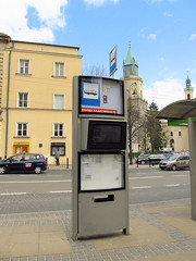Bus stop in Lublin (transport131) Tags: infrastruktura infrastructure bus stop lublin ztm info