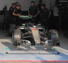 Lewis Hamilton's car waiting in the box (Marco Moscariello) Tags: formula1 2016 monza italiangp f1 lewishamilton mercedes box mercedesamg hamilton race poleposition greatbritain driver english pole poleman
