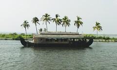 Boat Sights (Shrayansh Faria Photography) Tags: waters backwaters tropical trees sky