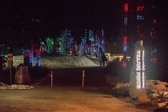 20170323_0087_1 (Bruce McPherson) Tags: brucemcphersonphotography whistlerolympicplaza lowlight nightphotography coloredlights whistlerbynight winter spring snow whistler bc canada whistlervillagenorth whistlernorthvillage