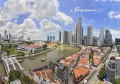 Singapore river (Albert Photo) Tags: singapore singaporeriver cbd boat oldandnew
