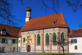 Blutenburg, Schlosskapelle Hl. Dreifaltigkeit