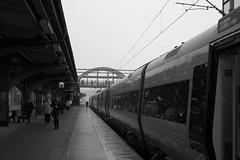 L1004280_v1 (Sigfrid Lundberg) Tags: lund tracks lundc sweden skåne platform snowfall railwaytracks leica aposummicronm 50mmf20asph