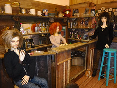 pub on monday (steamwitch) Tags: woodwork bjddiorama bjdpub