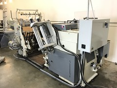 BRAUSSE 750 Die Cutter Foil for Sale (4) (Rowley Press) Tags: hot foil letterpress diecutting diecutter hotfoil machinery horsetrader printing print packaging presentation folder presentationfolder