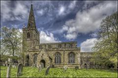 Newnham Church (Darwinsgift) Tags: newnham church daventry northamptonshire exterior hdr photomatix nikkor pc pce e 19mm f4 nikon d810 spring