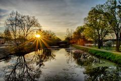 Morning Bursts Through (kendoman26) Tags: hdr nikhdrefexpro2 spring landscape sunburst sonyalpha sonya58 sonyslta58 sonyphotographing sigma1850f2845 travelillinois enjoyillinois
