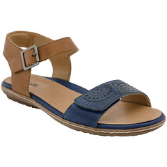 """Earth Star sandal sapphire blue • <a style=""""font-size:0.8em;"""" href=""""http://www.flickr.com/photos/65413117@N03/33450459691/"""" target=""""_blank"""">View on Flickr</a>"""