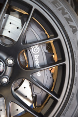 GT350 Test Fitment (ApexRaceParts) Tags: 19inch brake caliper clearance