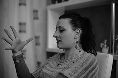 I said no! (Duccio Teufel) Tags: woman girl hand indoor rieti lazio italy easter canon 5d markiii 50mm stm 3200iso