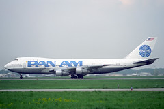 N737PA Boeing 747-121 Pan Am (pslg05896) Tags: svo uuee moscow sheremetyevo n737pa boeing747 panam