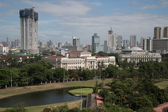 Manila as seen from Intramuros (andryn2006) Tags: intramuros manila mout metromanila philippines