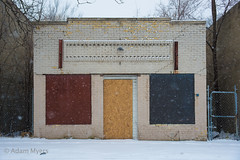 Out of Business. Detroit, March 2017 (adamkmyers) Tags: detroit motorcity outofbusiness abandoned