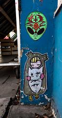 HH-Wheatpaste 3217 (cmdpirx) Tags: hamburg germany reclaim your city urban street art streetart artist kuenstler graffiti aerosol spray can paint piece painting drawing colour color farbe spraydose dose marker stift kreide chalk stencil schablone wall wand nikon d7100 paper pappe paste up pastup pastie wheatepaste wheatpaste pasted glue kleister kleber cement cutout