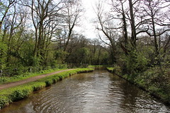 Monmouthshire and Brecon Canal (demeeschter) Tags: wales monmouth brecon canal boat narrowboat cruise wood national park beacon landscape view fields sheep forest water hills mountains village town nature