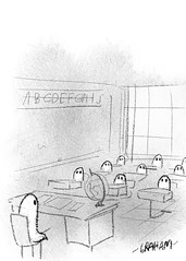 Ghost School (Grickle) Tags: grickle request doodle twitter ghost school substitute teacher centuries