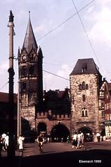 Eisenach - am Nikolai-Tor (Knipser@) Tags: eisenach 1959 hawe ddr thüringen
