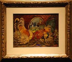 Lotta di galli - Ligabue - 1956/1957