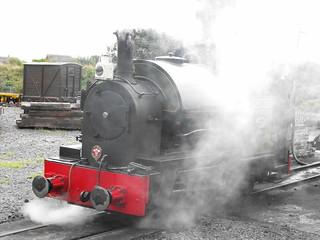 'Edward Thomas' @ Talyllyn Railway - Aug. 2009
