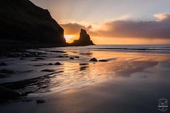 Marbled Golden Sands [explored] (tristantinn) Tags: 2016 autumn britain explore highland highlands landscape mountains nature outdoor scotland uk winter talisker sand