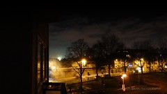 Mist in the Night (Mars Mann) Tags: urbanphotography skyline nightphotography mist urbanstreets cityscape marsmannphotography lowlight clouds dark silhouette lights