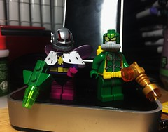 The Bug Bros (LordAllo) Tags: lego dc batgirl year one batman killer moth firefly