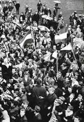 Velox Kampioen (1961 - 1962) (poedievanlaar) Tags: velox fc utrecht koningsweg 1961 1962 tweede divisie kampioen trainer daan van beek wim arnhem gerrit de bruin kees cees sluyk sluijk henk ledden joop jochems optekamp ton sambeek jaap klinkenberg dick uittenbosch ben aarts frans geurtsen leen morelisse hassie agterberg achterberg voetbal football 2e fans supporters eerste oldenzaal teus huygens huijgens