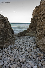 Cala La Granadella (Copboc) Tags: aigua agua water mar alacant alicante comunitatvalenciana comunidadvalenciana copboc cielo rocks paisaje paisatge piedra