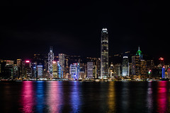 Hong Kong Central Harbor view by night (arnaud_martinez) Tags: apartment blue buildingexterior builtstructure chinaeastasia city citylife cityscape cloudscape coastline district downtowndistrict dusk eternity finance financialdistrict hk harbor hill hongkong hongkongisland illuminated journey kowloon landscape mountainpeak night officebuilding peak ship sky skyscraper sunset tsimshatsui urbanscene urbanskyline victoriaharbourhongkong victoriapeak wanchai water aerialview architecture asia business famousplace island modern mountain nauticalvessel rises scenics sea tourist
