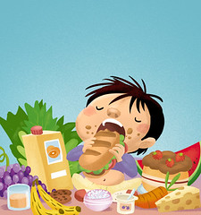 niño comiendo (wallmistwallpaper) Tags: alimento bocaabierta bocadillo comida comiendo fruta infantil moreno niño verdura