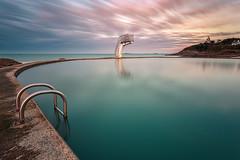 Swimming pool (Ludovic Lagadec) Tags: saintquayportrieux swimingpool piscine bretagne breizh brittany bretagnenord seascape sea sky sunset cotesdarmor nisi nisifilters longexposure