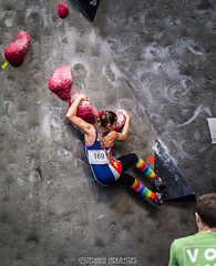 Rainbow Rockets (♥Stephanie Larbalestier) Tags: exercise fitness athlete rainbowrockets youth youthc boulder bouldering nationals canada canadian rainbowsocks kneehighs muscles ripped teambc bc britishcolumbia northvancouver northshore indoorclimbing sportclimbing scbc rockclimbing climbing climbinggym climbingwall hivenorthshore 2017 winter february panasonic microfourthirds micro43 strong stronglikeagirl strength core lean girlsrock